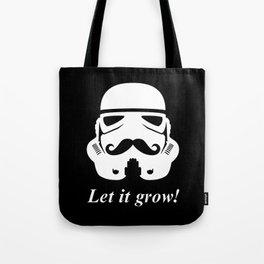 Bearded trooper Tote Bag