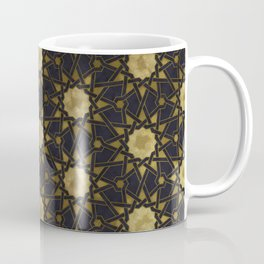 Islamic decorative pattern with golden artistic texture Coffee Mug