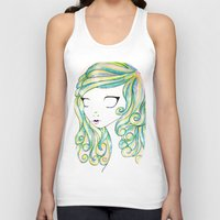 fairy Tank Tops featuring Fairy by Caitlin Roberts