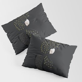 Red-tailed black cockatoo Pillow Sham