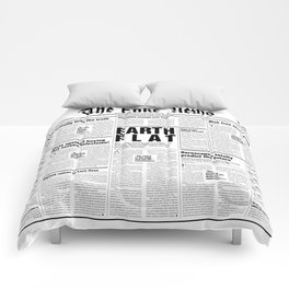 The Fake News Vol. 1, No. 1 Comforters