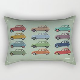 Five more 2CV's Rectangular Pillow