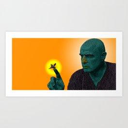 Apocalypse Now Marlon Brando Art Print