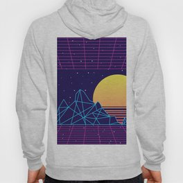 Vaporwave Sunset Hoody