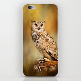 Great Horned Owl Wildlife Photography iPhone Skin