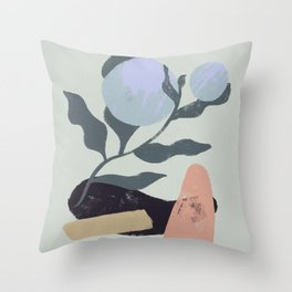 Nature shapes Throw Pillow