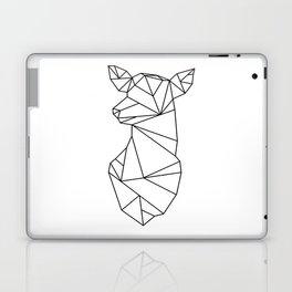 Geometric Doe (Black on White) Laptop & iPad Skin