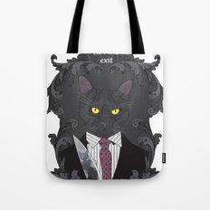 American Psycho Kitty Tote Bag