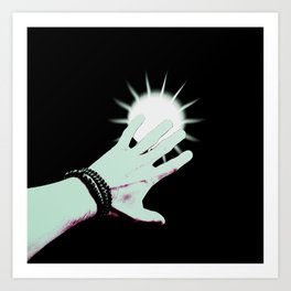 Reaching out Art Print