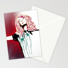 The Performer Stationery Cards