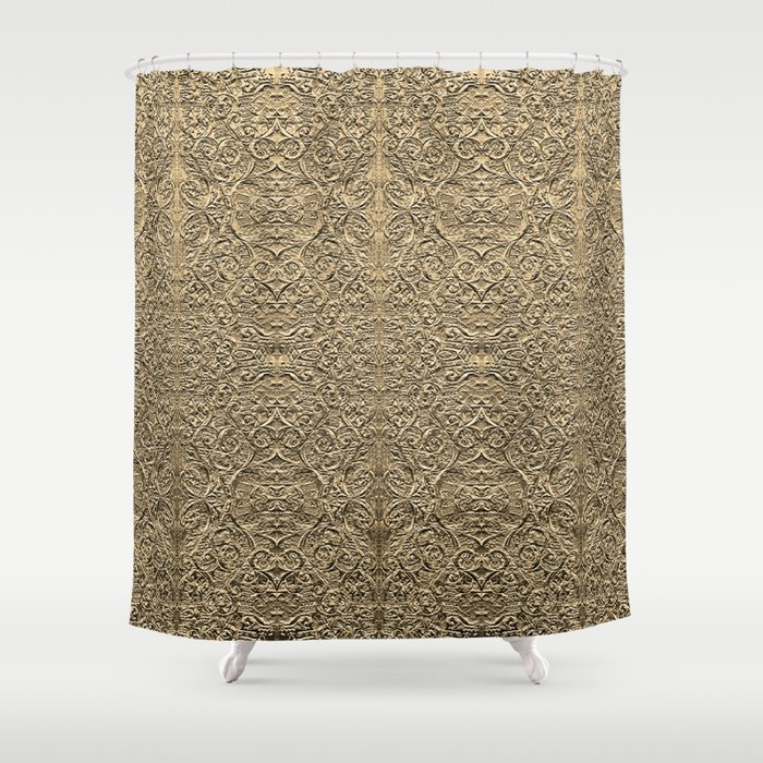fools gold Shower Curtain by mackenzieleigh | Society6