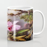 lily Mugs featuring lily by karens designs