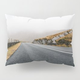 Misty Lonely Road II Pillow Sham