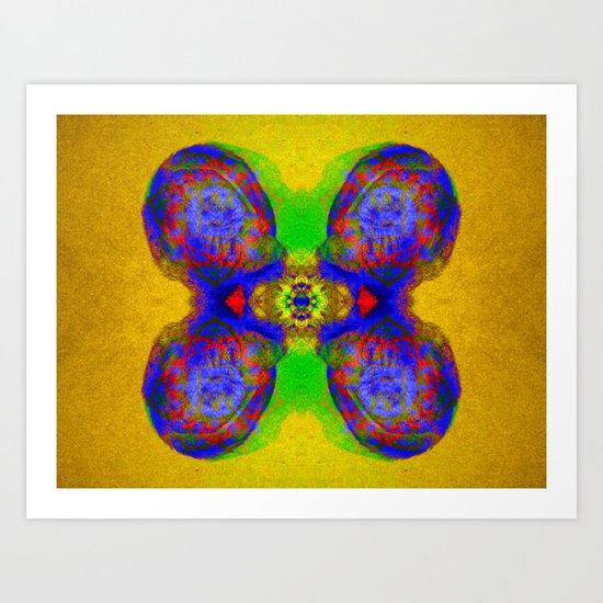 Rorschach Test - Sir Parker Art Print