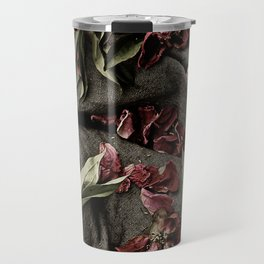 "Peonies are beautiful from the ""bud to to the end."" Travel Mug"
