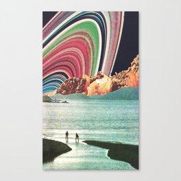 Saturn Strobe Canvas Print