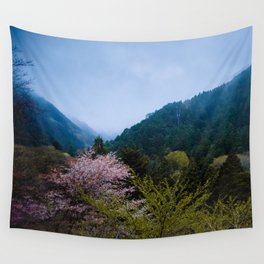 Japanese forest 3 Wall Tapestry