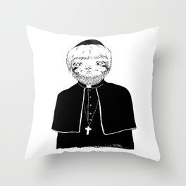 The Sloth Throw Pillow