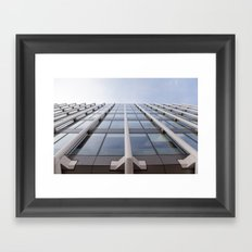 Things are looking up Framed Art Print
