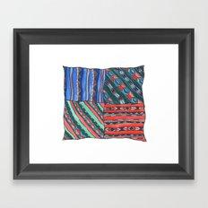 Pattern #3 Framed Art Print