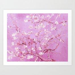 Vincent Van Gogh Almond BlossomS. Pink Lavender Art Print