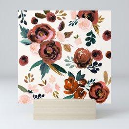 Valentina Vintage Rust Rose Mini Art Print