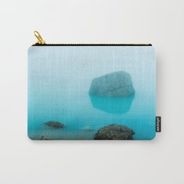 Mysterious aqua mountain lake, Italy Carry-All Pouch
