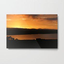 Sunrise - Ben Lowmond - Tasmania Metal Print