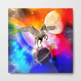 space unicorn. Metal Print