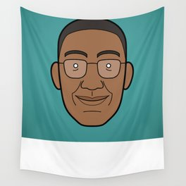 Faces of Breaking Bad: Gustavo Fring Wall Tapestry