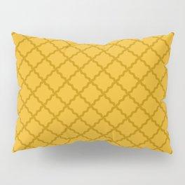 Golden Harvest Diamond Grid Pillow Sham