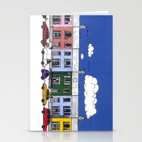 marc johns Stationery Cards featuring St Johns Terrace, Lewes by Richard Ellis