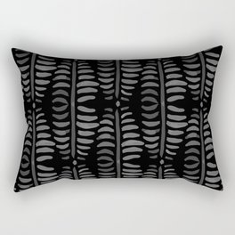 Helecho black pattern Rectangular Pillow
