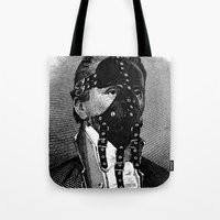 bdsm Tote Bags featuring BDSM IV by DIVIDUS