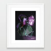wizard Framed Art Prints featuring Wizard by David Pavon
