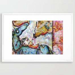 The Horse Singer Framed Art Print