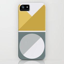 Geometric Form No.4 iPhone Case