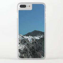 Santorini, Greece 4 Clear iPhone Case