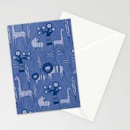 Blue Savannah Stationery Cards