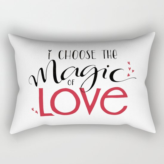 Magic of Love Rectangular Pillow
