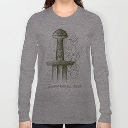 Mytho-Slavic Sword Long Sleeve T-shirt