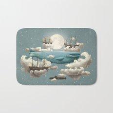 Ocean Meets Sky - colour option Bath Mat
