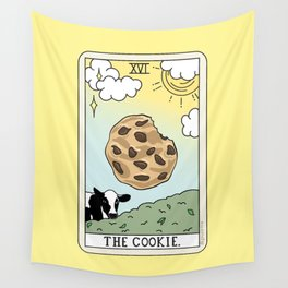 COOKIE READING Wall Tapestry