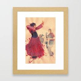 danz4 by nicolas Perruche Framed Art Print