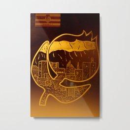 Granade Metal Print