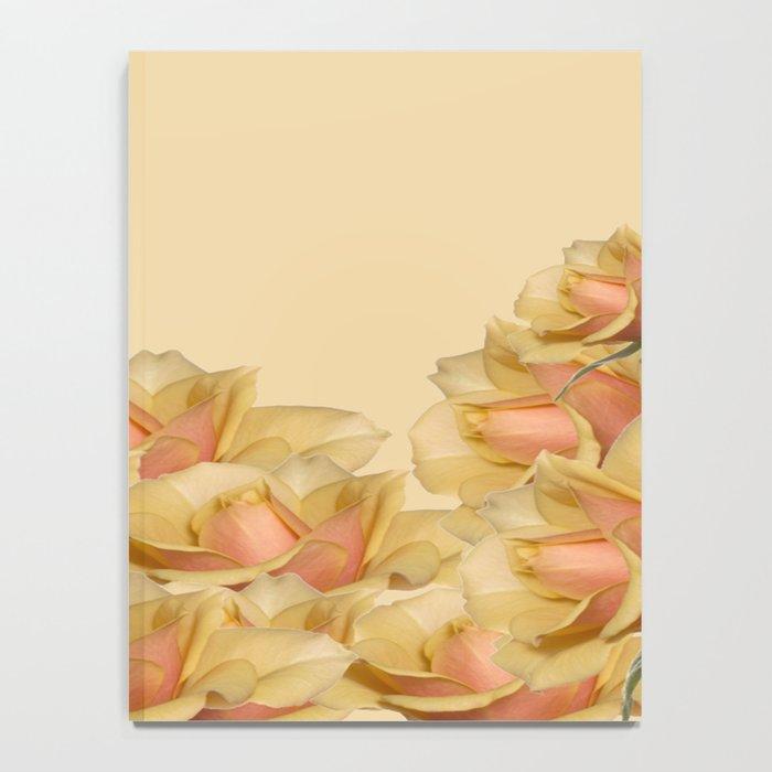 Peach Rose Delight Notebook