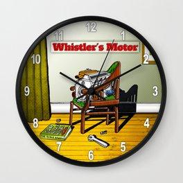 Whistler's Motor Wall Clock