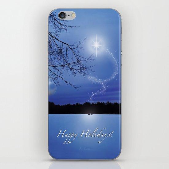 Christmas Eve - Card iPhone & iPod Skin