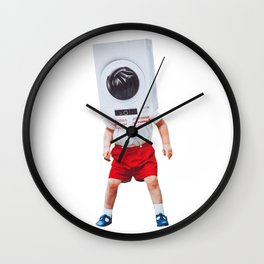 machine boy Wall Clock