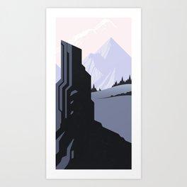 Beyond the Gatekeeper Art Print